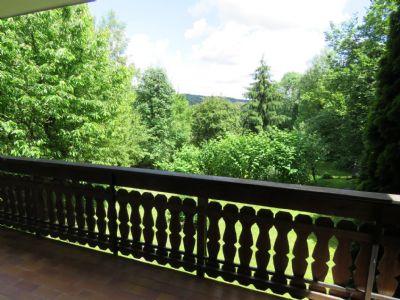 Blick vom unteren Balkon
