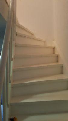 Treppe zum 2.OG