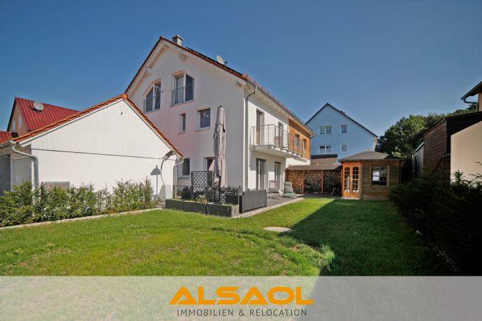 ALSAOL Immobilien: Einzigartige,moderne Doppelhaushälfte mit fast 200m² reiner Wohnfläche bei Dachau!