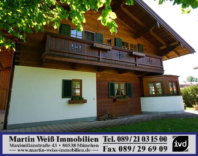 Authentische Landhausvilla in Deisenhofener Premiumlage