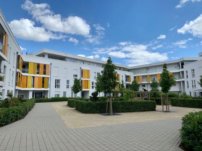 Moderner Neubau 2 ZKB mit EBK, großer Terrasse und zentraler Lage ***** provisionsfrei *****