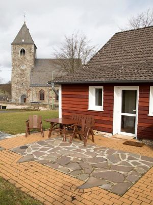 Zum Hohen Venn in Monschau/Konzen - liebevolles Ferienhaus direkt neben der Pfarrkirche
