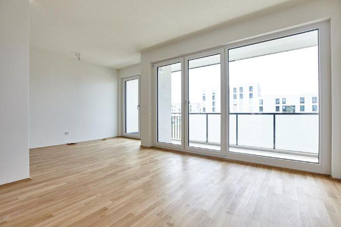 Sehr schöne und helle 3-Zimmer Neubau-Wohnung mit Südbalkon