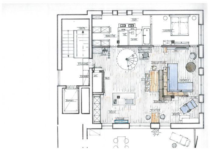 Traumhaftes Penthouse mit großer Dachterrasse und Rundumblick auf den Lousberg!