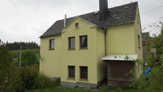 Idyllisches Eigenheim mit Garten bei Adorf imm Vogtland