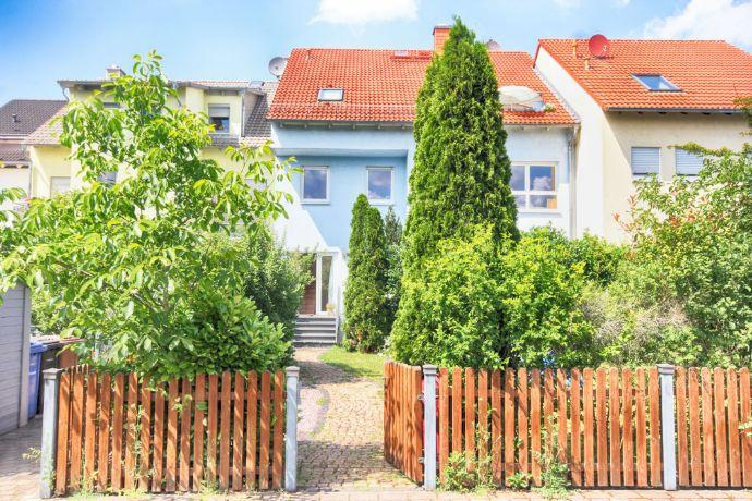 Gepflegtes RMH im XL-Format oder Mehrgenerationenhaus in direkter Main Lage von Mühlheim