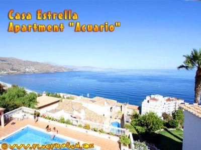 Casa Estrella *** Ferienwohnung Acuario *** großer Pool und toller Meerblick *** Strand 900 m