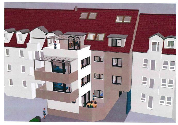 Baubeginn !! Neue Wohnungen in zentraler Lage von Offenburg 70 bis 100m² Wfl.