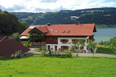 Landhaus Sinz überm See - Ferienwohnung - Seeblick****