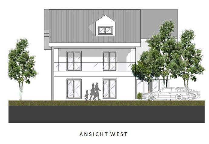 Neubau: Großzügige Doppelhaushälfte in Top-Lage Nähe Ortskern Feldkirchen (München-Ost)