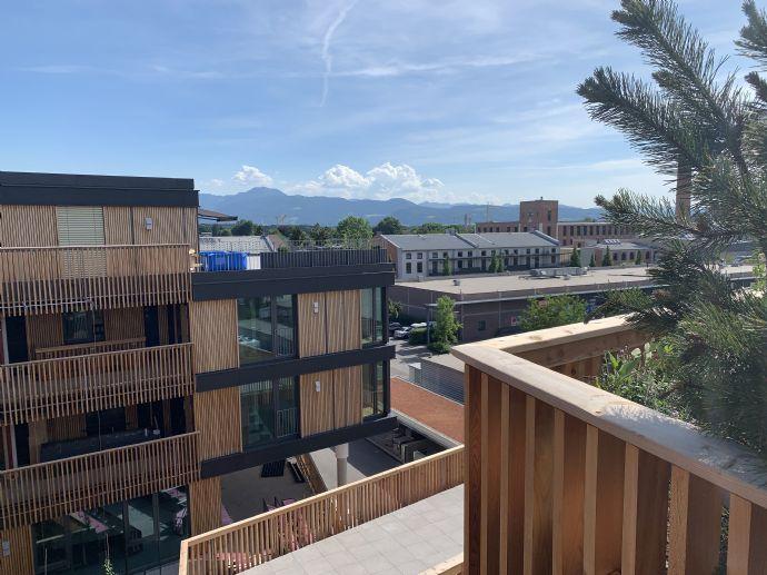 Erstbezug: Exklusive, helle Loftwohnung mit Bergblick in Südausrichtung