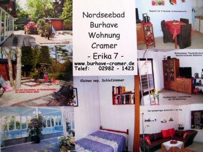 Ferienwohnung mit beheiztem Schwimmbad im Haus/Nordseebad Burhave