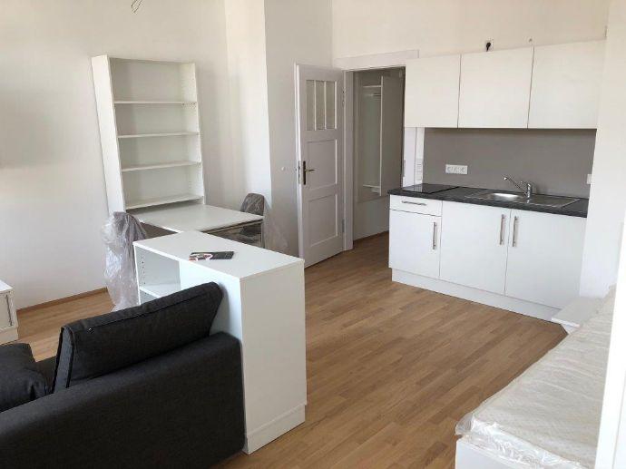 Hochwertig möbliertes 1-Zi-Appartement in Traumlage direkt an den Pegnitzauen Muggenhof