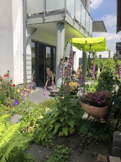 Lichtdurchflutete Wohlfühloase... 3-Zi mit Terrasse & großem Garten
