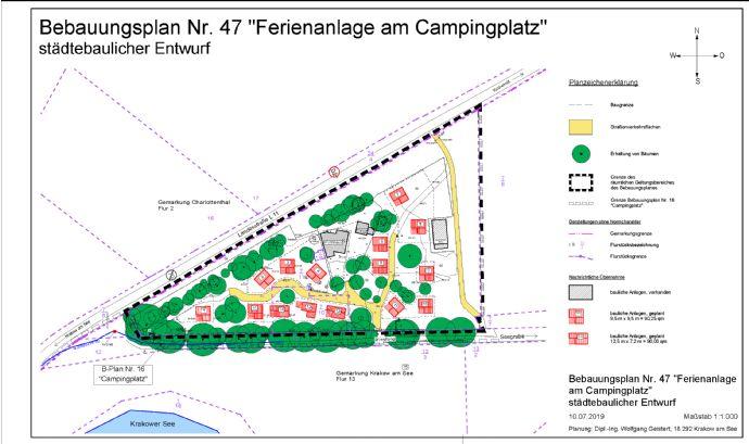Für Investoren: Ferienhaus-Projekt am Krakower See - 15 Ferienhäuser !