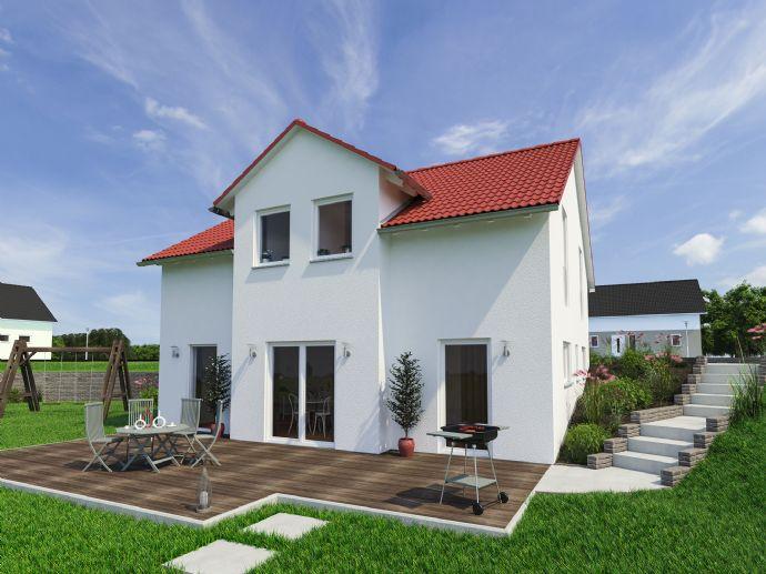 Schönes Einfamilienhaus als Doppelhaushälfte baubar in 2. Reihe in Undenheim