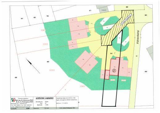 Baugrundstück 458 m² und Einfam.-Doppelhaushälfte, Neubau, ca. 131 m² Wfl, Mülheim-Saarn