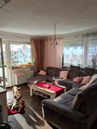 3-Raum-Wohnung mit Balkon ab 01.04.2021 verfügbar