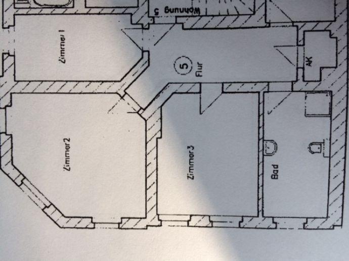 Hübsche 3-Zimmer-Wohnung unweit vom Rannischen Patz!