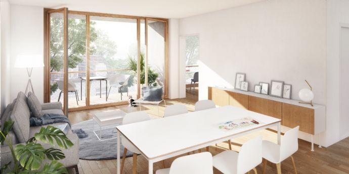 Gartenwohnung in neuem Baugruppenprojekt LANGHANS24