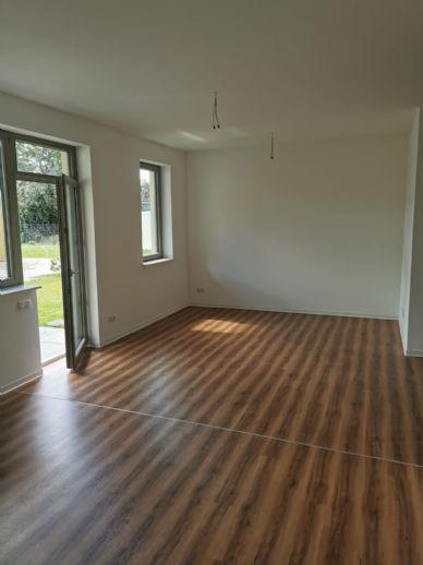 2-Raum Wohnung Stadtzentrum Neuruppin Seenähe Garten Terrasse