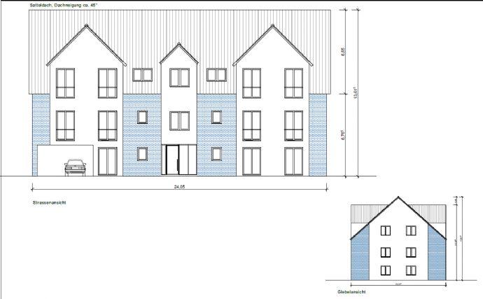 (RESERVIERT) Baugrundstück inkl. Bauvorbescheid für ein Mehrfamilienhaus 12-14 WE Pinneberg/Zentrum