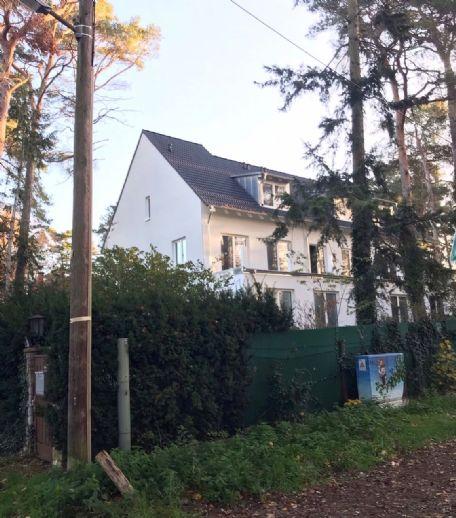 Exclusiv nahe Glienicker See - Helle 3-Zimmerwohnung mit Terrasse und Garten auf schönem Waldgrunds