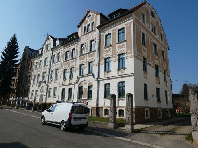 Einziehen und Wohlfühlen! 1,5-Zimmer-Wohnung mit Garten in Werdau