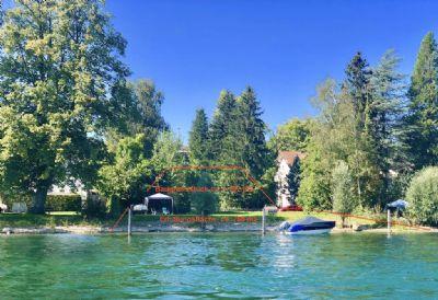 Absolute RARITÄT! Baugrundstück mit Rheinufergrundstück und 2 Bootspfähle in Büsingen