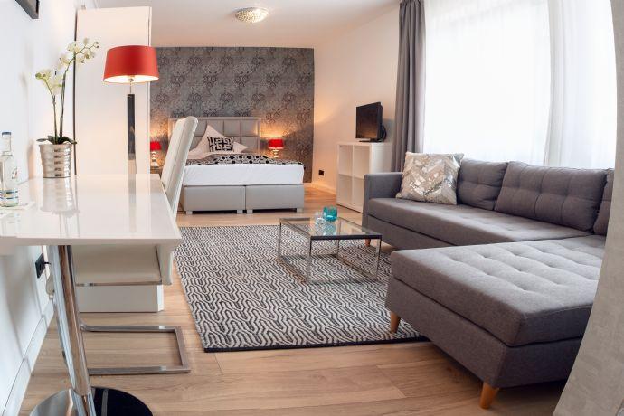 Exclusive Living - 55 m² Suite Deluxe im salinenparc Bad Westernkotten