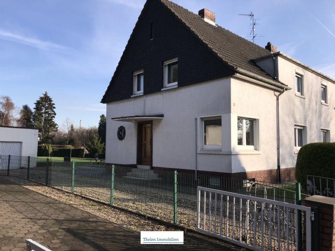 Provisionsfrei Doppelhaushälfte Auf Großem Grundstück