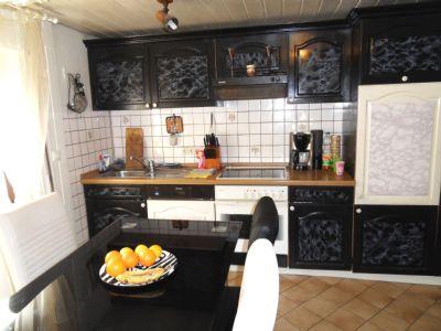 Wohnküche mit Platz zum gemeinsamen essen!