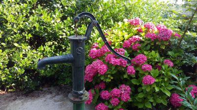 Wasserversorgung für den Garten