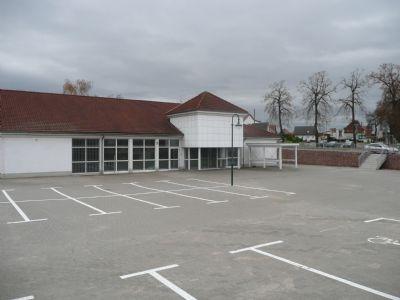 Grundstück Anbindung an Gebäude