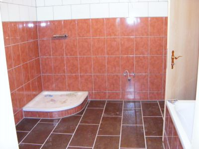 Bad mit Dusche im Keller