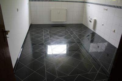 Granitboden Küche