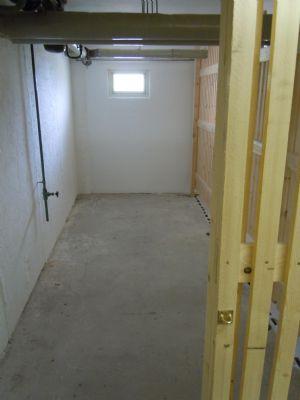 Kellerraum, einer von beiden