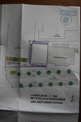 Lageplan beide Gebäude m. Stellplätzen (Photo)
