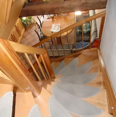 Schicke Treppenanlage