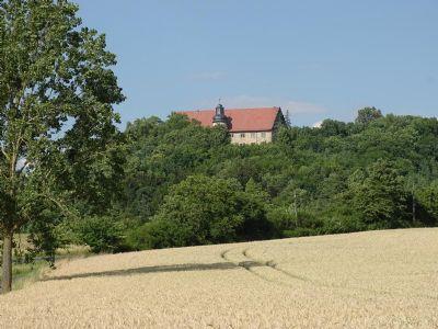 Die Bettenburg in 3km Entfernung
