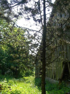 Großzügiger Garten hinter der Scheune