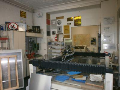 Raum 1, mit Lang-Fräse