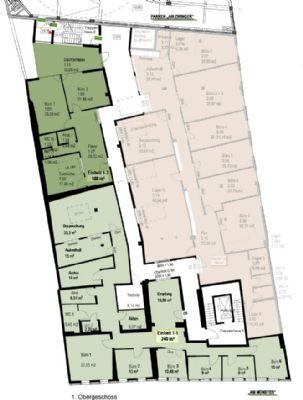 b ror ume in northeimer innenstadt mit parkhaus b rofl che northeim 2gcky46. Black Bedroom Furniture Sets. Home Design Ideas