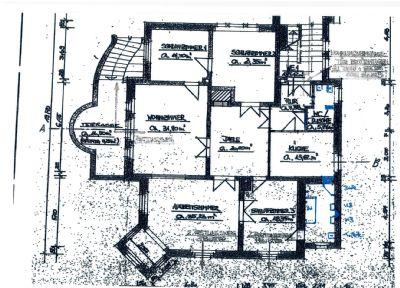 EG mit ca. 185 qm: 5-6 Zimmer, 2 Baeder, Kueche