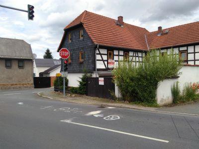 Bauernhaus mit befahrbarem Innenhof