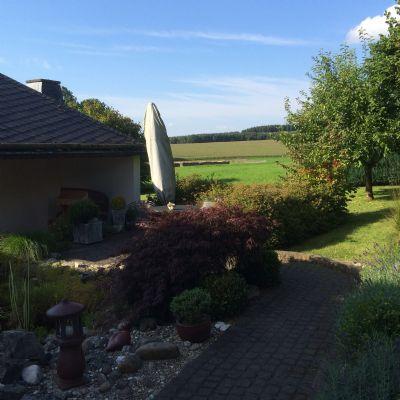 Harmonisch angelegter Garten