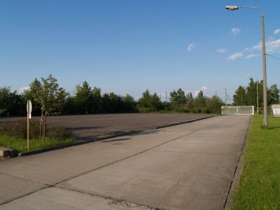 Ansicht Parkfläche