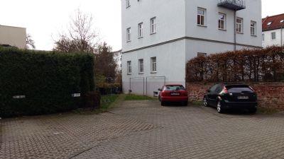 Hofbereich mit Wäscheplatz