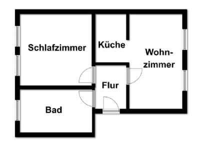Raum Wohnung Dessau