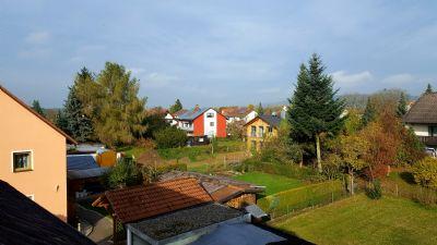 Gartenansicht vom Dachgeschoss
